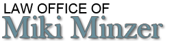 Law Office of Miki Minzer Attorney at Law logo